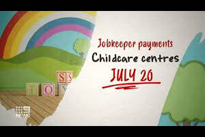 JobKeeper turned off for childcare sector
