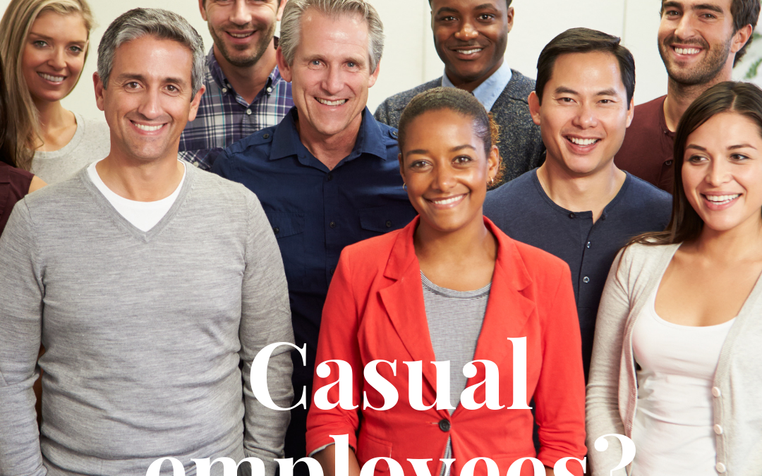 Employing Casuals? There are some important changes you need to know